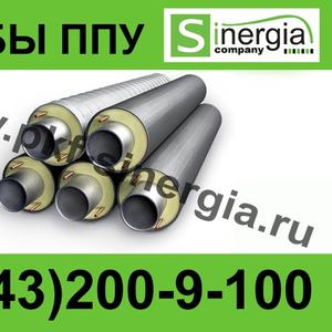 Труба ППУ с металлической заглушкой изоляции  Тольятти