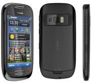 Продам новый сотовый телефон Nokia С7 Black,